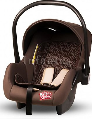 Bright Starts Baby Carry Cot Brown