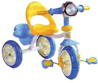 Baby Tricycle Blue & White