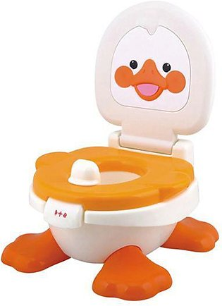 Junior Baby Potty Seat Duck Orange