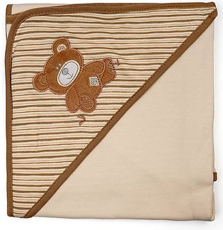 Little Sparks Baby Wrapping Sheet Bear Brown