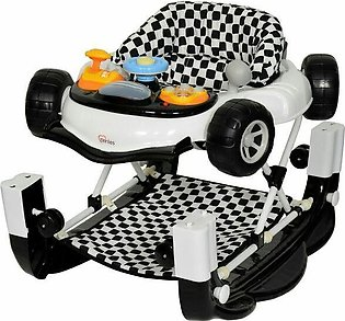 TINNIES BABY WALKER W/ROCKING Black