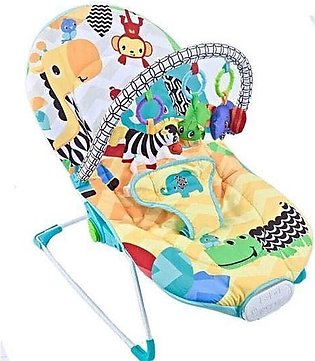 Fitch Baby BABY BOUNCER Animals Yellow