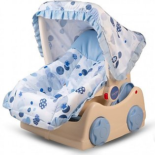 Infantes Baby Car Seat w/ Mosquito Net Blue