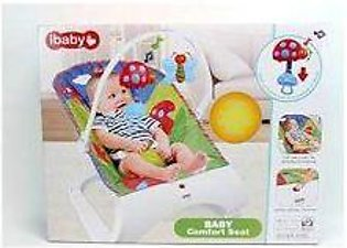 Ibaby Baby Comfort Seat With Vibrations Green