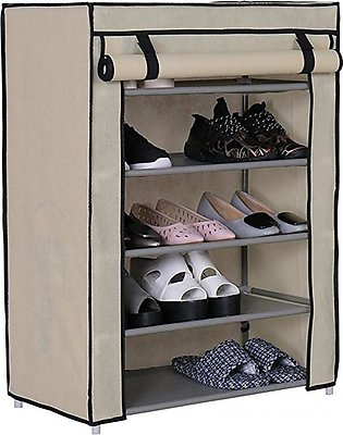 Little Sparks 5 Layers Baby Shoe Rack Brown
