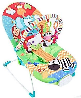 Fitch Baby BABY BOUNCER Animal Green