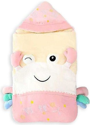 Little Sparks Baby Sleeping Bag character Pink