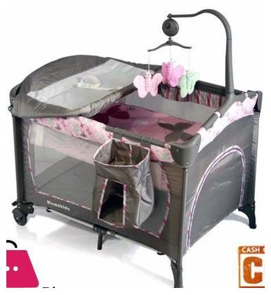 Mamakids playpen foldable portable baby cot