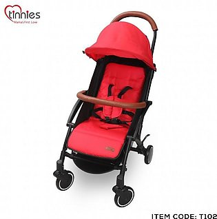 TINNIES BABY STROLLER - RED