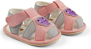 Baby Bubble Sandal Frog Pink