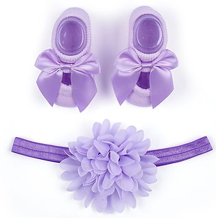 Little Star Baby Gift Set 2Pcs Purple