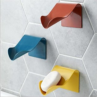 Pack of 3 Self Adhesive No Drilling Soap Holder (Imported)