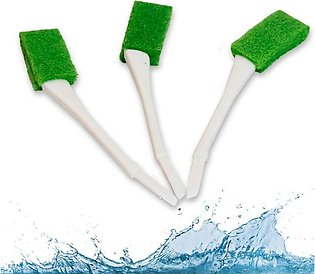 Pack of 3 - Kitchen and Bathroom Sink Cleaning Brushes