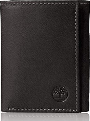Timberland- Mens Leather Trifold Wallet With ID Window