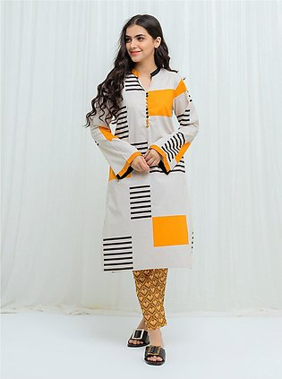 PRIMROSE YELLOW - 2 Piece (With Embroidered Pants)