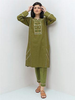 Embroidered Shirt With Pant