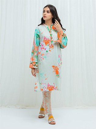 MYSTICAL MINT - 2 Piece (With Embroidered Pants)