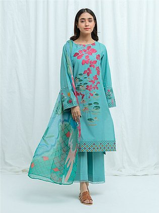 LOTUS BLOOM-Embroidered-3P