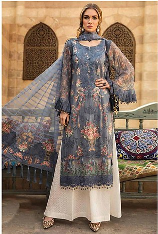 Maria-B Embroided Lawn - ZF3013