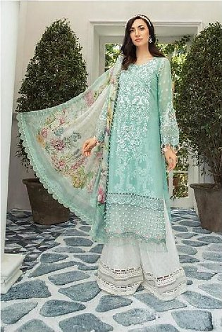 Maria B Embroidered  Linen -GA7071