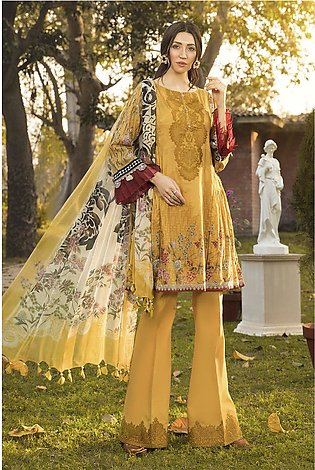 Maria B Embroidered Lawn-GA1016