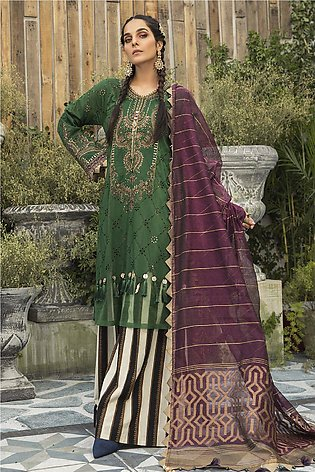 Maria b Embroidered  Linen -GA1130
