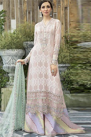 Maria B Embroidered  Linen -GA7069