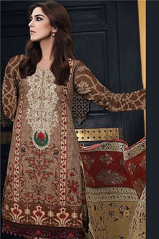 Maria B Embroidered Lawn - MPT13