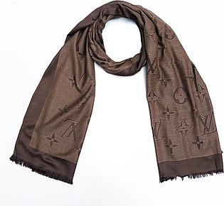 All over Jacquard weaved  Stole (LV-2391)