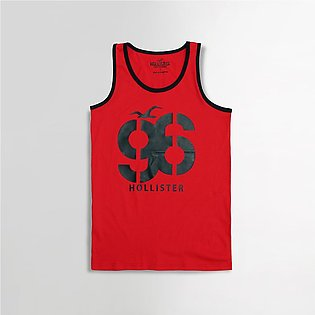 96 Iconic Slim Fit Graphic print Casual Vest (HO-2446)