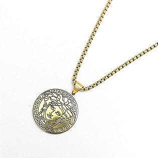 VR Premium Quality CHAINED MEDUSA NECKLACE (VE-2166)