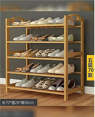 Bamboo Wood Shoe Rack