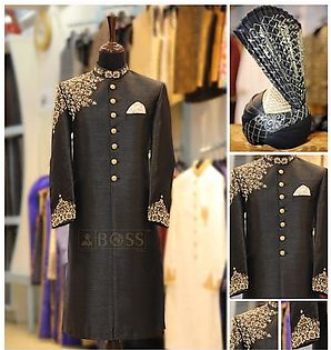 Kurta Mahal Sherwani For Men