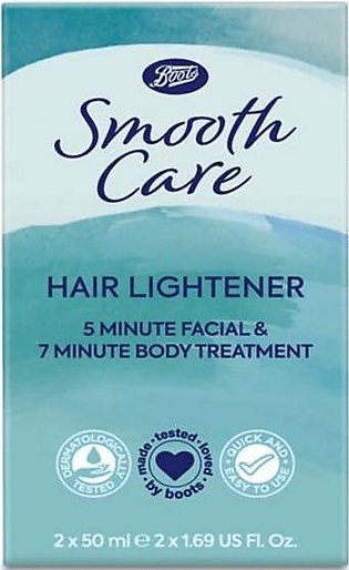 Boots Smooth Care Hair lightener  50Mlx2