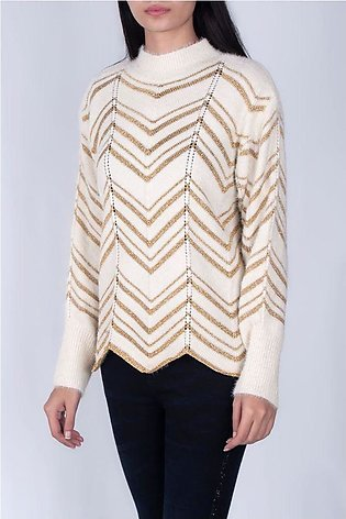 SOFT FEEL SHIMMER SWEATER