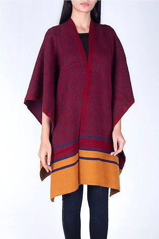 SOFT PATTERNED CAPE