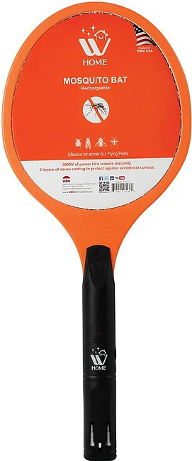 WBM Home Rechargeable Mosquito Killer Racket
