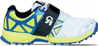 CA Big Bang KP Cricket Shoes- Blue & Lime