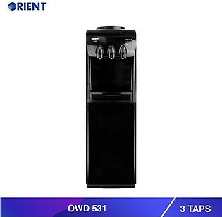 OWD 531  Water Dispenser with 3 Taps-Black