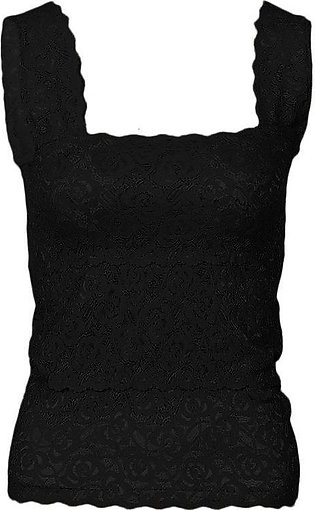 Black Stretchable Imported Lace Bra – Fashion 2000-S