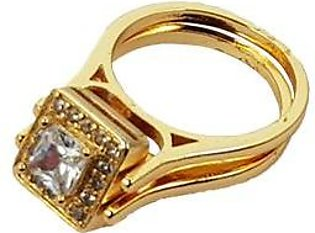 Platinum-Plated-Double-Zircon-Ring-A