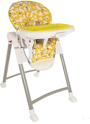 Graco Ultra Light And Completely Portable High Chair- Yellow