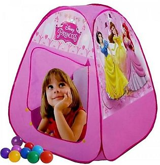 Princess Tent House With 50 Soft balls