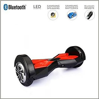 Black – Smart Electric Self Balance Scooter With Bluetooth/High Tech Speakers