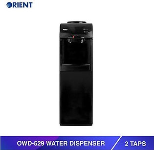 OWD-529 Water Dispenser with 2 Taps-Black