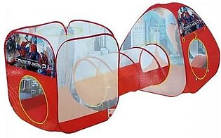 Spiderman Tent House With Tunnel