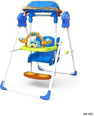 Baby Stand Swing (BLUE & YELLOW)