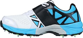 CA Big Bang KP Cricket Shoes (with Spikes) – Blue