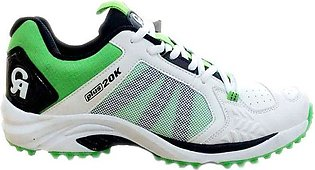 CA Plus 20K Cricket Shoes – Green & White