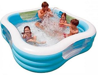 Intex Inflatable | Beach Wave Swimming Pool (90″ x 90″x 22″ )